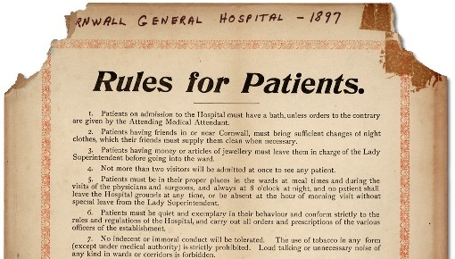cornwall general hospital 1897 - 50